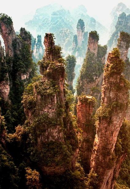 Avatar, Rock Spires, Zhangjiajie, China