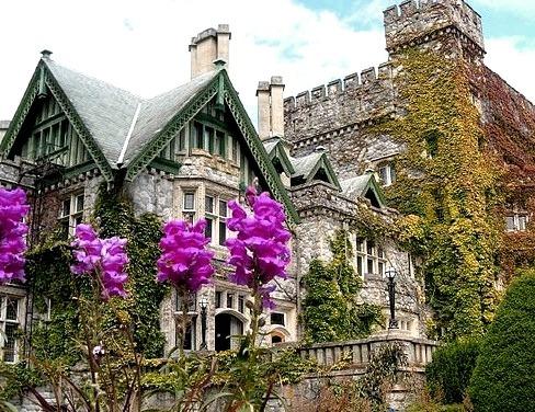 Hatley Castle in Victoria, British Columbia, Canada