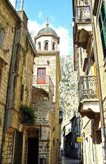 Old Town of Kotor in Montenegro