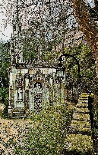 Quinta da Regaleira in Sintra, Portugal