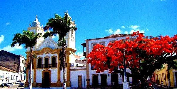Beautiful town of Penedo, Alagoas State, Brazil