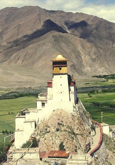 Yungbulakang Palace in Yarlung Valley, Tibet
