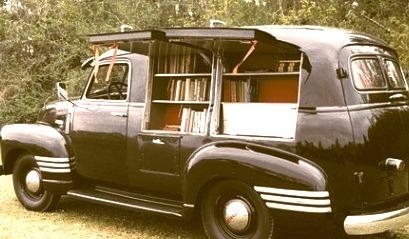 Bookmobile, Anderson, South Carolina