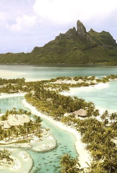 St. Regis Resort in Bora Bora, French Polynesia