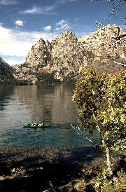 Jenny Lake in Grand Teton National Park, USA